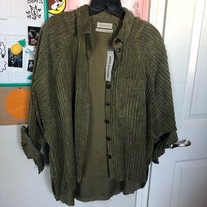 UO Textured button down shirt